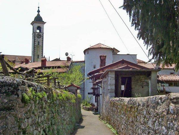 Terre di Confine : a Kanal, in Slovenia